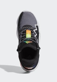 adidas Performance - D.O.N. ISSUE 2 UNISEX - Basketball shoes - core black/footwear white/solar red - 3
