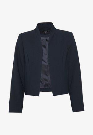 CROP BOLERO - Blazer - navy blue