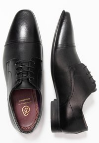 Burton Menswear London - BANKS - Smart lace-ups - black - 1