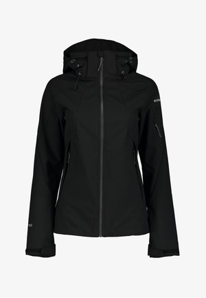 BARABOO - Soft shell jacket - schwarz