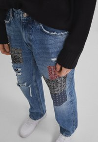 Bershka - Jeans baggy - blue denim - 3