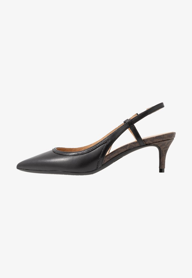NORA SLING - Klassiske pumps - black