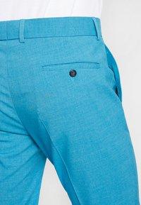 Lindbergh - PLAIN MENS SUIT - Oblek - turquoise melange - 7