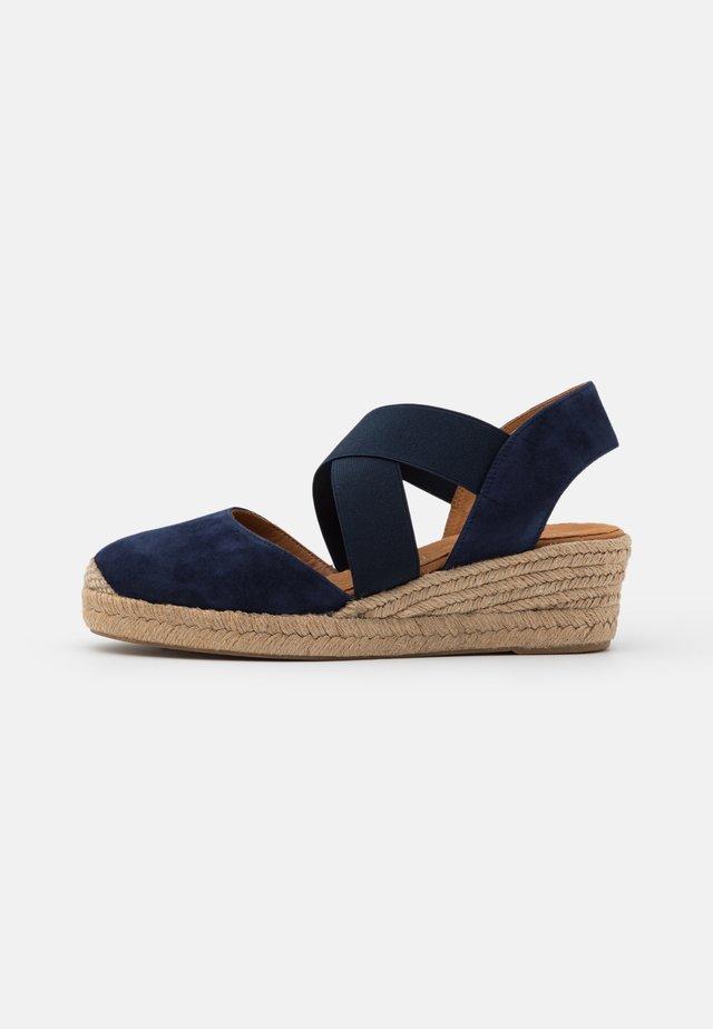CELE - Sandały na platformie - ocean