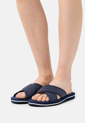 BELLA LOGO  - Pantofle - dark blue