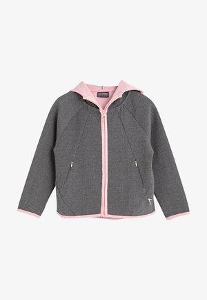 Zip-up hoodie - grey