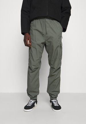 JOGGER COLUMBIA - Cargo trousers - thyme rinsed