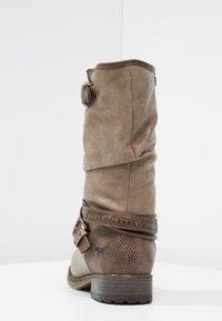 Mustang - Cowboy/Biker boots - taupe - 4