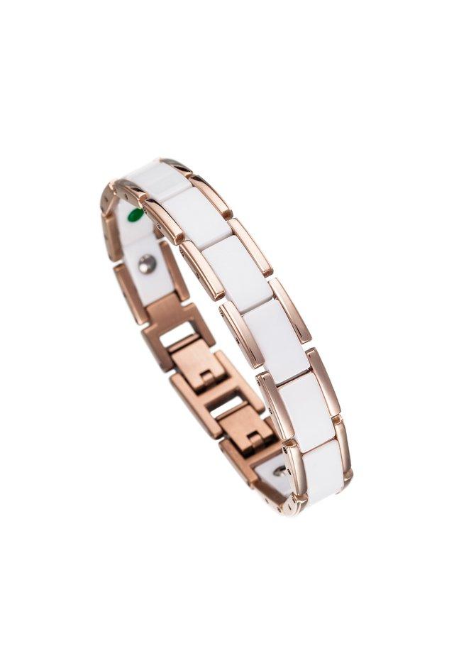 Armband - weiß/rosé