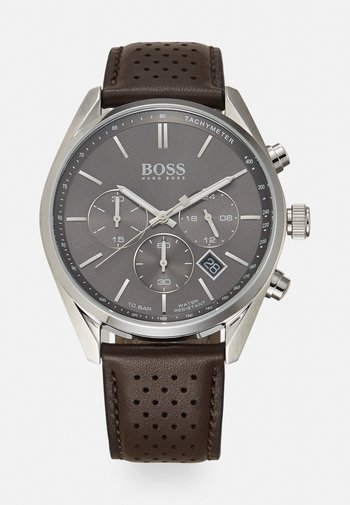 CHAMPION - Chronograph watch - braun