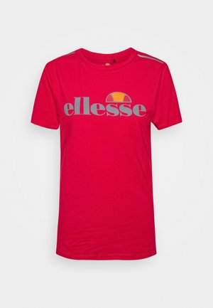 DELLE - Print T-shirt - red