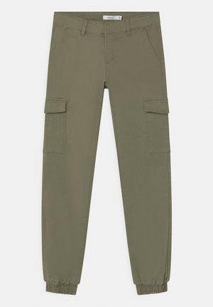 NKFSEA ANCLE - Cargo trousers - deep lichen green