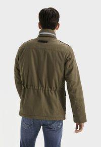 camel active - FIELD JACKET - Summer jacket - olive - 2