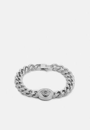 LION COIN CHAIN BRACELET UNISEX - Bracelet - silver-coloured