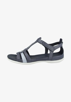 ECCO FLASH - Sandalen - marine/dusty blue metallic