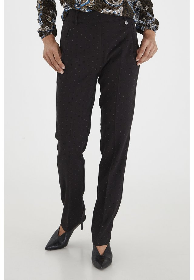 FRMADUT - Trousers - black mix