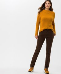 BRAX - STYLE MARY - Slim fit jeans - brown - 1