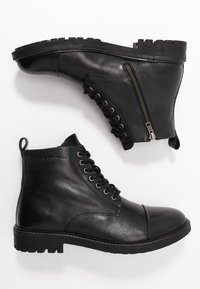 Pepe Jeans - PORTER BOOT - Lace-up ankle boots - black - 1