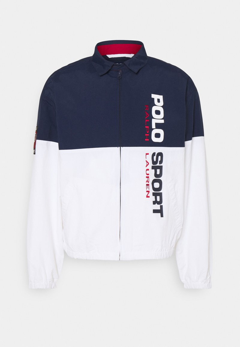 Polo Ralph Lauren - FREESTYLE CLASSIC - Summer jacket - pure white/multi