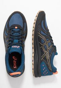 ASICS - FREQUENT TRAIL - Trail running shoes - mako blue/black - 1