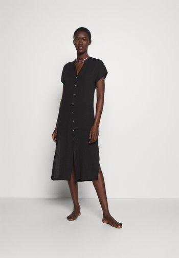 THRIFT SHOP DOUBLE CLOTH COVERUP - Strandaccessoire - black