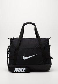Nike Performance - TEAM DUFF - Torba sportowa - black/black/white - 0