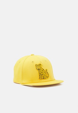 FLATPEAK LEO UNISEX - Cap - dark dusty yellow