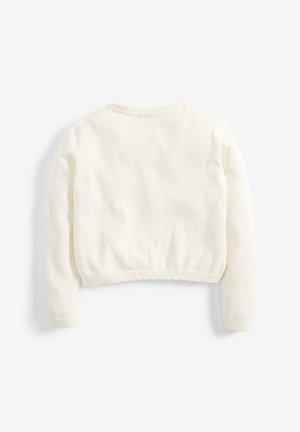 WHITE EMBELLISHED CARDIGAN (3MTHS-16YRS) - Cardigan - white