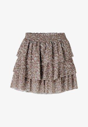 Pleated skirt - antler