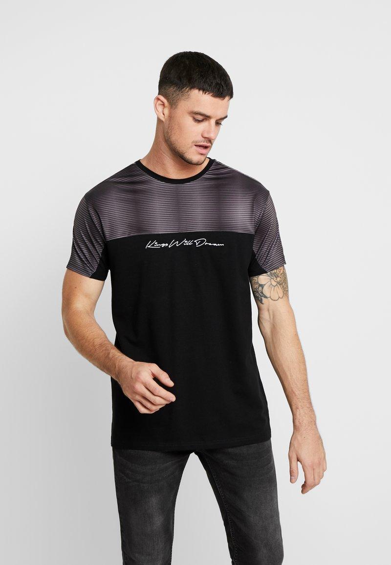 Kings Will Dream - WAKER - Print T-shirt - black