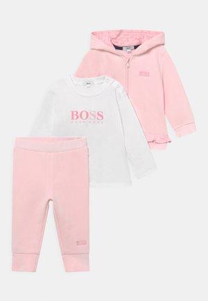 SET  - Sweater met rits - pinkpale