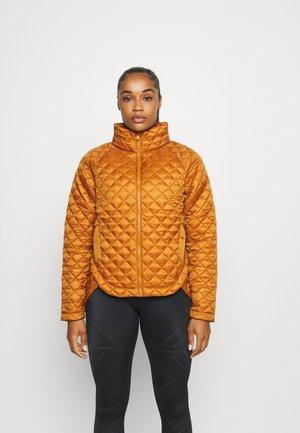 WHISPER JACKET - Training jacket - rust brown