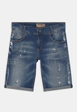 BOYS - Denim shorts - darkblue