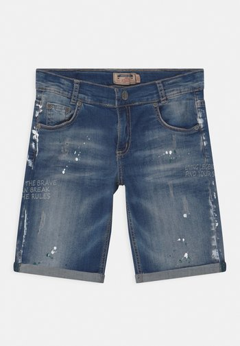 BOYS - Shorts di jeans - darkblue