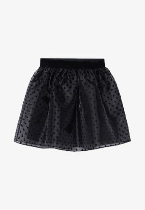DALLAS - A-line skirt - noir