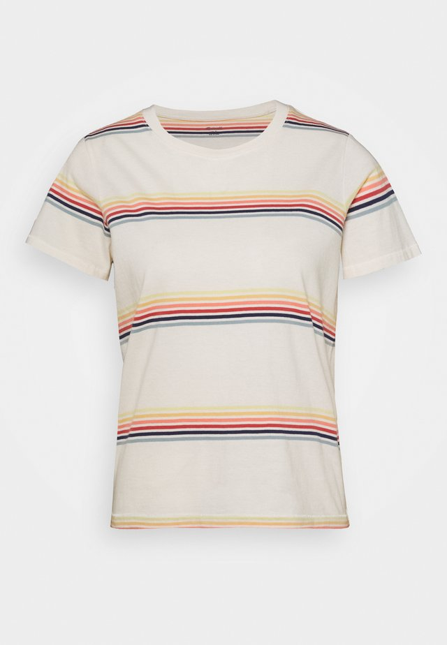 NORTHSIDE VINTAGE TEE SUMMERVILLE - T-shirt print - pearl ivory/ombre