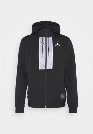 AIR FULL ZIP - Sweatjakke /Træningstrøjer - black/white