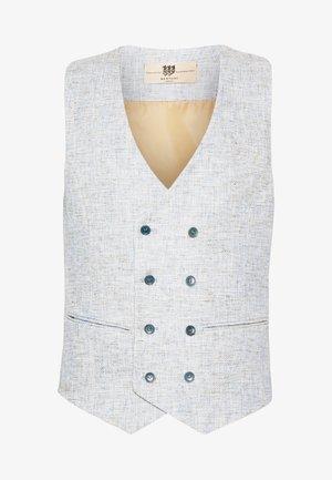 BARON WAISTCOAT - Suit waistcoat - aqua grey