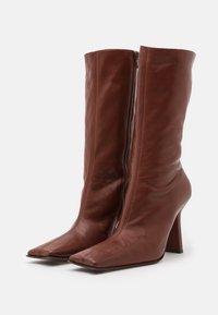 MIISTA - NOOR - High heeled boots - brown - 2
