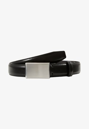 SLHFILLIP FORMAL PLATE BELT - Pásek - black