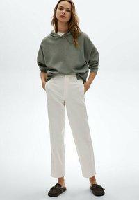 Massimo Dutti - Trousers - white - 1
