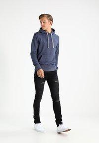 INDICODE JEANS - PALMDALE - Slim fit jeans - black - 1