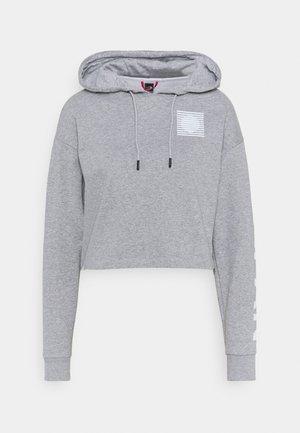 IC HOODIE - Sweatshirt - light grey heather
