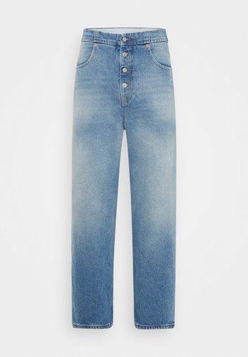 PANTS POCKETS - Jean boyfriend - vintage used/blue