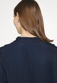 Vila - VIMOCAMIL  - Button-down blouse - navy - 5