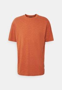 ONSANDREW LIFE TEE - Camiseta estampada - auburn