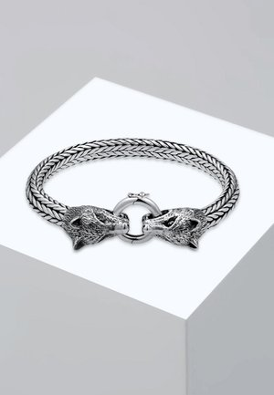 WOLFSKOPF - Bracelet - silver-coloured