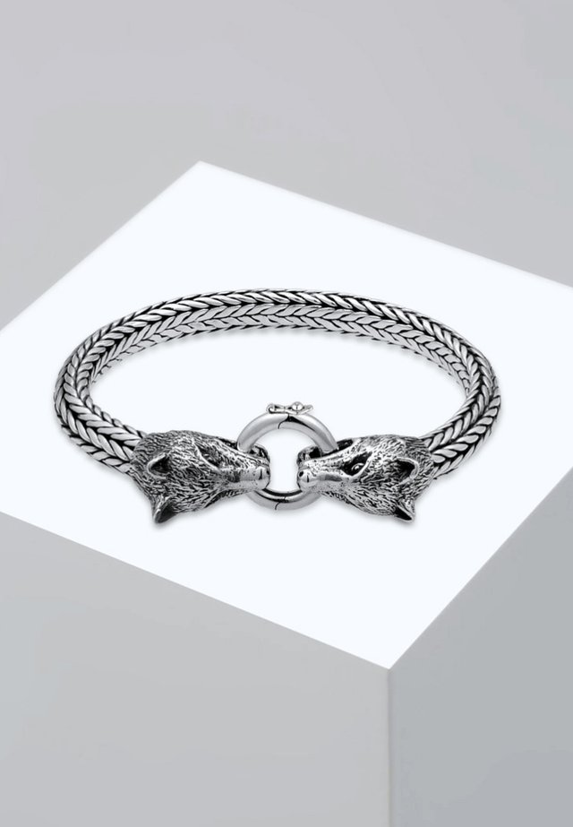 WOLFSKOPF - Bracelet - silver-coloured
