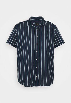 JJGREG STRIPE PLAIN - Shirt - navy blazer