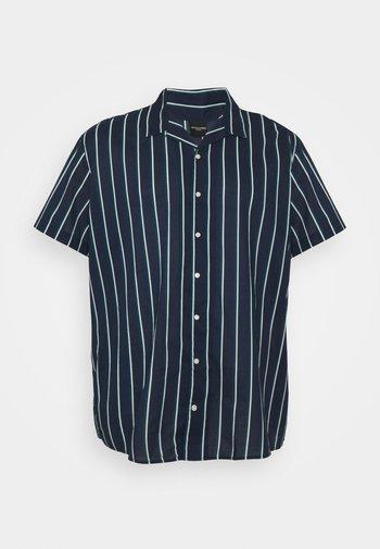 JJGREG STRIPE PLAIN - Shirt - navy blazer